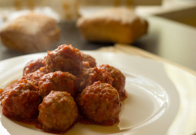 Authentic Italian Meatballs Cooking Best Italian Food Grandma's Meatballs