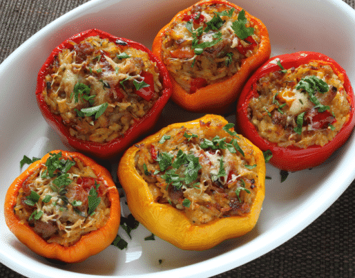 Stuffed Peppers Authentic Italian Recipe