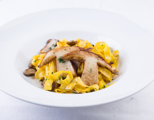 Tagliatelle with Porcini Mushrooms Recipe