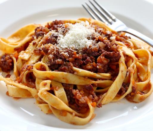 Tagliatelle With Ragù Bolognese