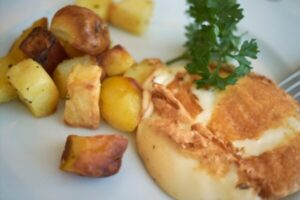 Grilled Scamorza Cheese